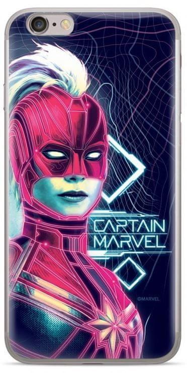 MARVEL Captain Marvel 013 Kryt pro Samsung G930 Galaxy S7 Dark Blue MPCCAPMV5741