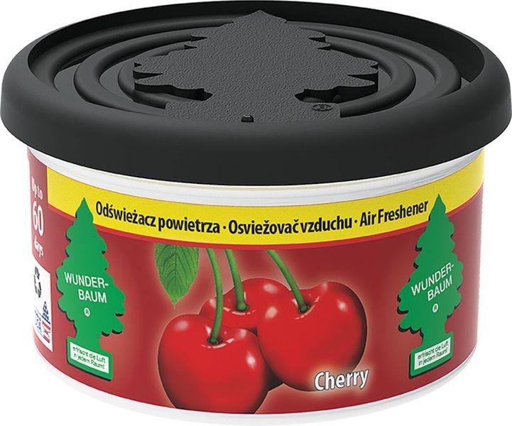 WUNDER-BAUM Vůně, vonná plechovka Fiber Can - Cherry (třešeň), dlouhotrvající vůně