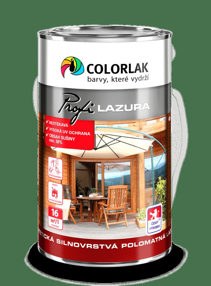 COLORLAK PROFI LAZURA S1025 - Teak T0023, 2,5 L