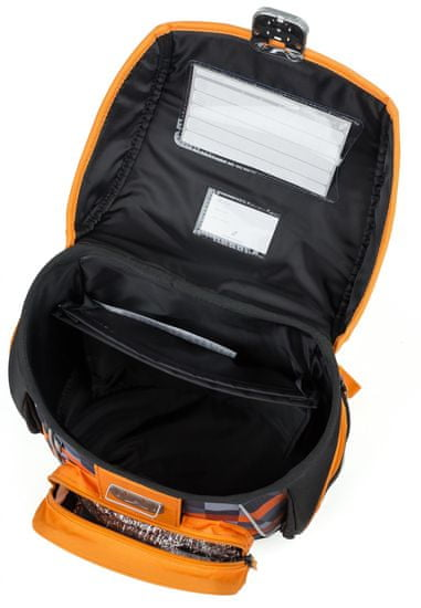 Karton P+P Anatomski šolski nahrbtnik Premium Volk