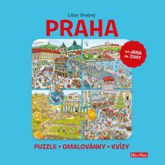 Drobný Libor: PRAHA - Puzzle, omalovánky, kvízy