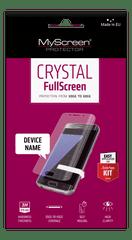 Screenprotector zaščitna folija za Samsung Galaxy J6 2018 J600, Crystal FullScreen