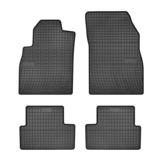MAMMOOTH Koberce gumové, Chevrolet Cruze a Orlando, Opel Astra J a Cascada (kabriolet, liftback, sedan, VAN) od 05.2009, sada 4 ks, černé