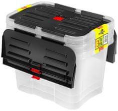 Heidrun komplet škatel za shranjevanje Dragon Boxu, 15 L, 3 kosi