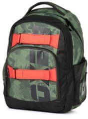 Karton P+P šolski nahrbtnik OXY Style Army, vojaški motiv