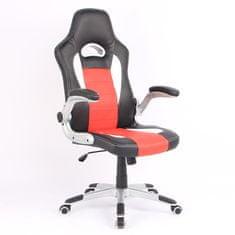 Hyle pisarniški stol, vrt. HY-3465, rdeč