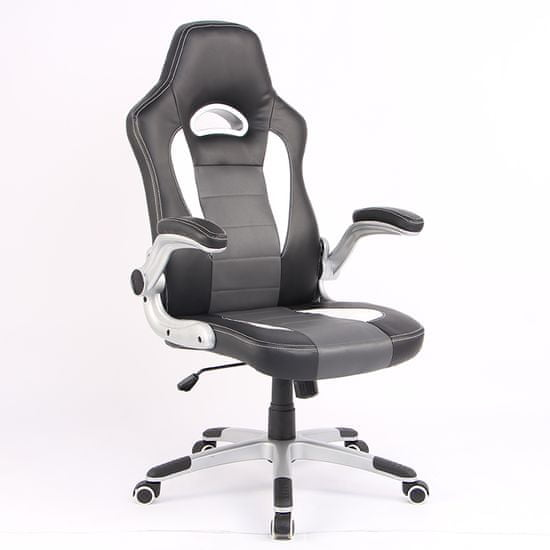 Hyle pisarniški stol, vrt. HY-3465, siv