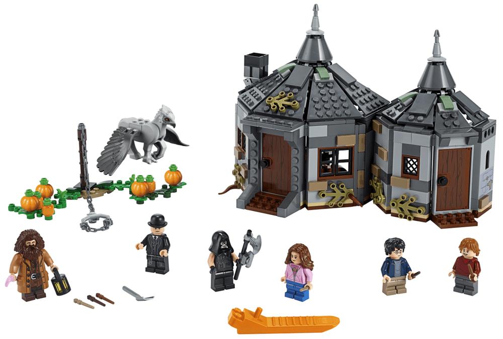 2a1a33be4 LEGO Harry Potter 75947 Hagridova bouda: Záchrana Klofana