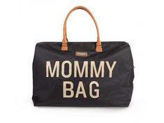 Childhome Mommy Bag Big Black Gold
