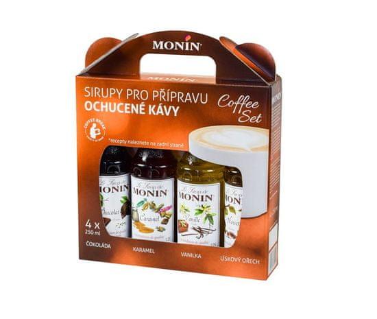 MONIN Coffee box, 4 x 0,25 l