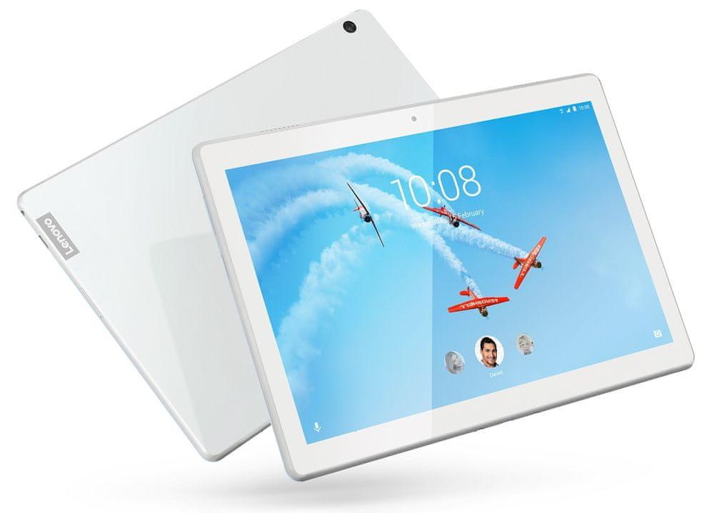 Lenovo Tab M10, 2GB/16GB, Wi-Fi, bílý (ZA480108CZ)