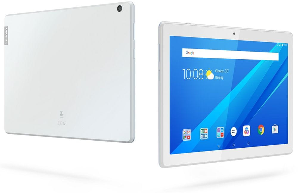 Lenovo Tab M10, 3GB/32GB, Wi-Fi, bílý (ZA480071CZ)