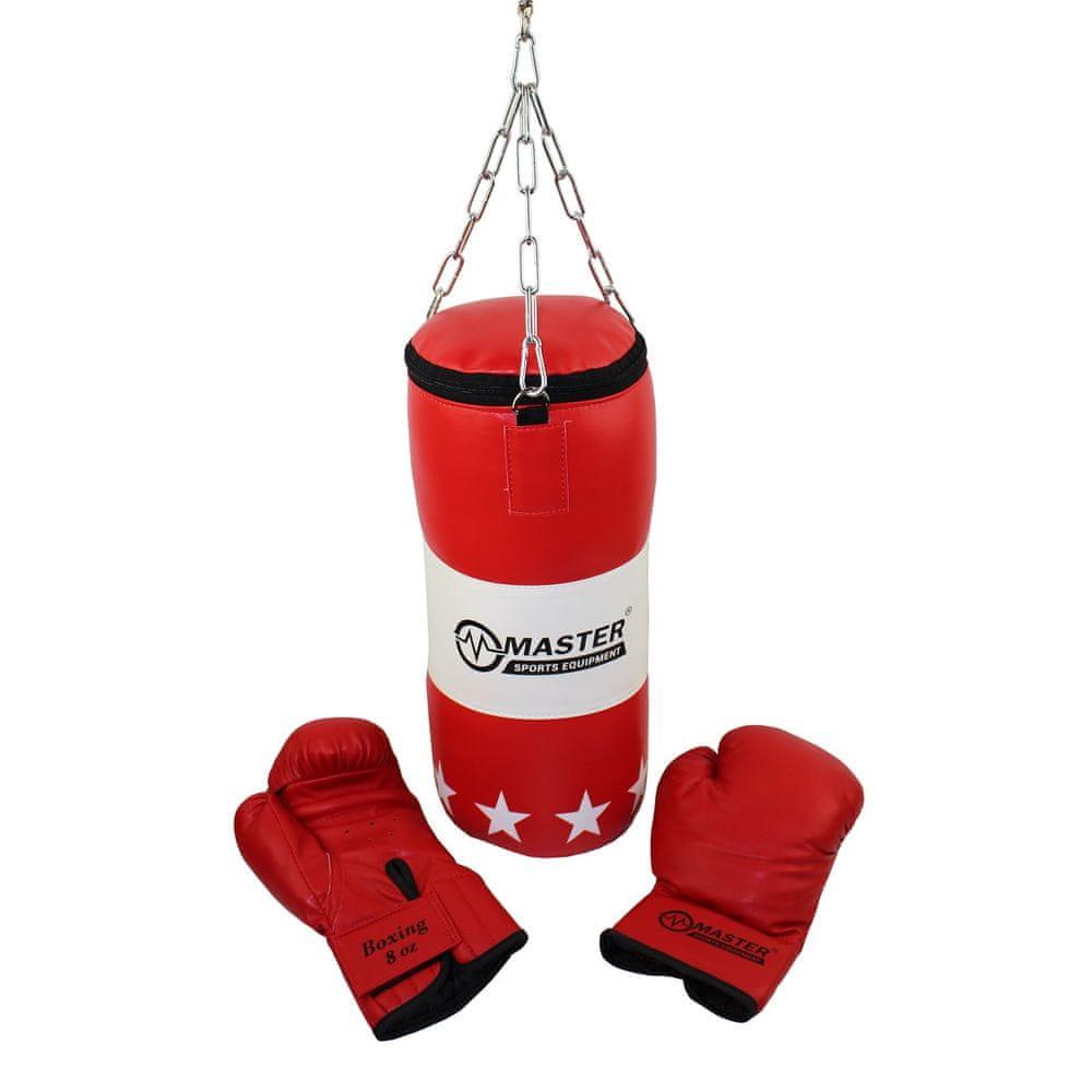 Master dětský boxovací set - pytel + rukavice