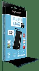 Screenprotector Diamond Glass Edge 3D zaščitno kaljeno steklo za Huawei P30 Pro, črn