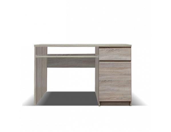 TEMPO KONDELA PC stůl, dub sonoma, PANAMA typ 10