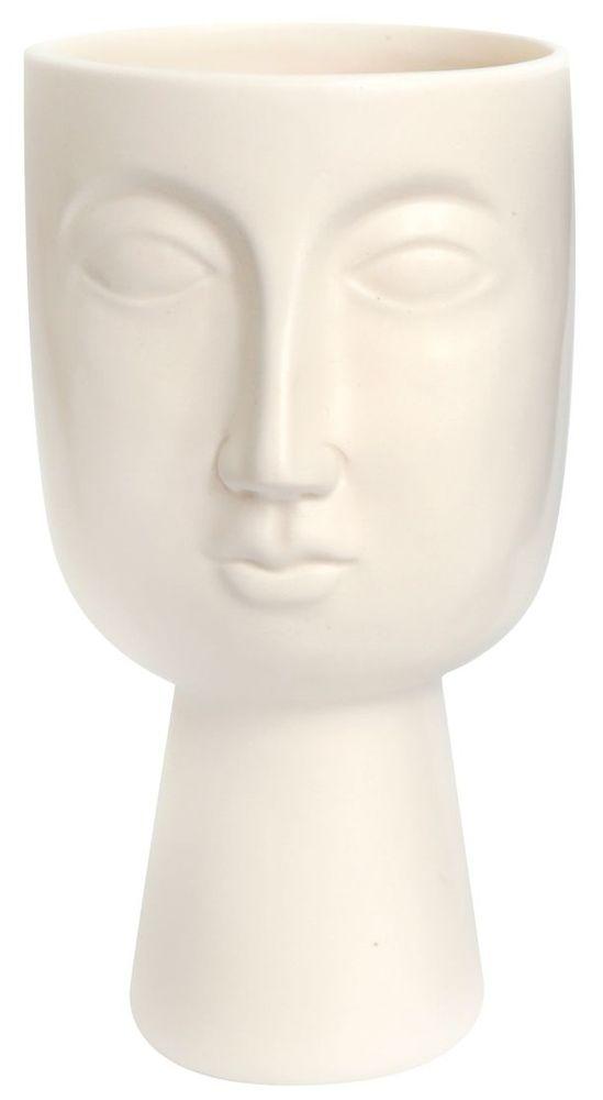 """Sifcon Květináč """"Pagan"""", 22,5 cm, bílý"""