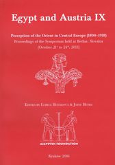 Hudáková, Jozef Hudec Ľubica: Egypt and Austria IX: Perception of the Orient in Central Europe (1800