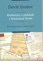 Passia, Gabriela Magová Radoslav: Deväť životov-Rozhovory o preklade a literárnom živote