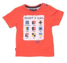 North Pole chlapecké tričko 62 - 68 oranžová