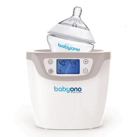 BabyOno Ohřívač a sterilizátor digitální 2v1 - zánovní
