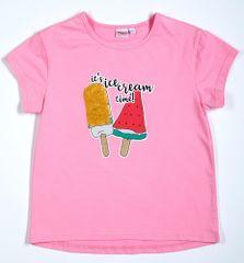 Topo dívčí tričko 92 růžová