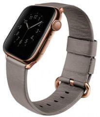 UNIQ Mondain kožený remienok Apple Watch 40/38mm Sand, UNIQ-40MM-MONBEG