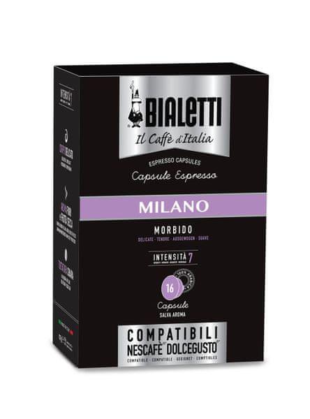 Bialetti Nescafé Dolce Gusto Milano, 16 kapslí