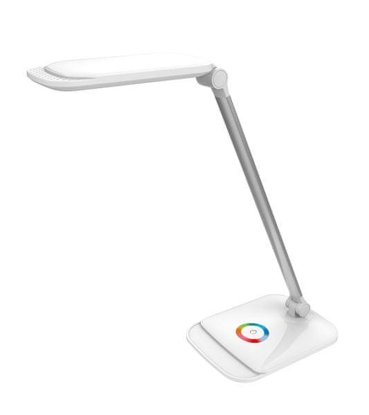 Platinet LED stolní lampička, bílá