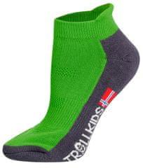 Trollkids dětské nízké ponožky 23 - 26 zelená