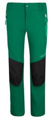 Trollkids otroške softshell hlače, 122, zelene