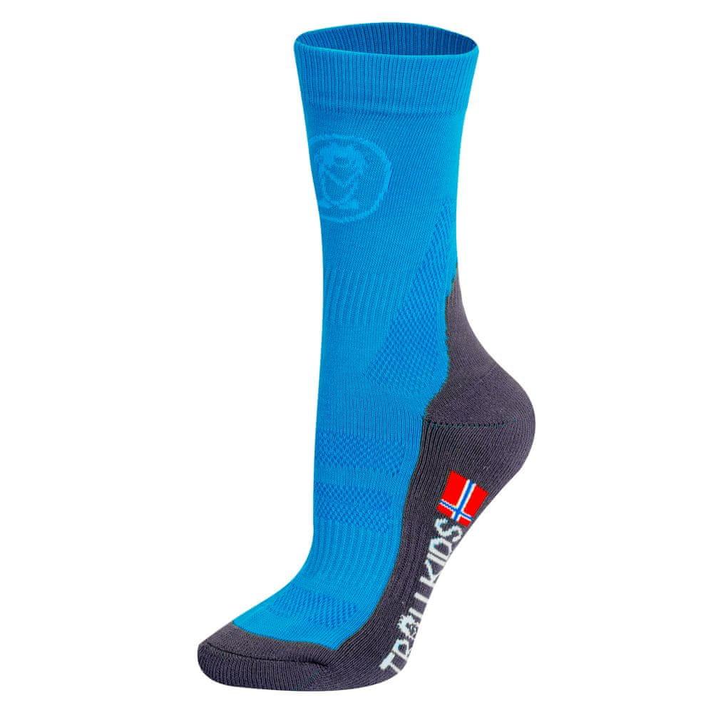Trollkids dětské ponožky 27 - 30 modrá