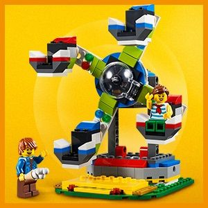 LEGO Creator 31095 Vrtiljak