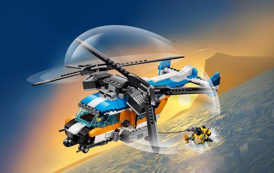 LEGO Creator 31096 Helikopter z dwoma wirnikami