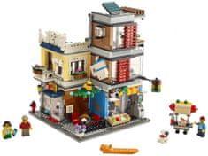 LEGO Creator 31097 Sklep zoologiczny z kawiarnią
