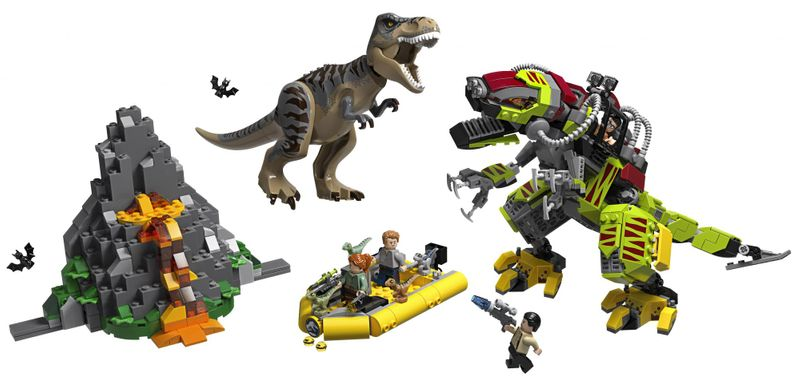 LEGO Jurassic World 75938 T. rex vs. Dinorobot