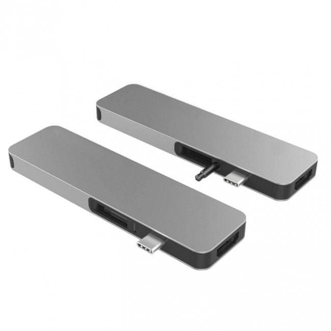 Hyper HyperDrive SOLO USB-C Hub pro MacBook a ostatní USB-C zařízení - Space Gray, HY-GN21D-GRAY