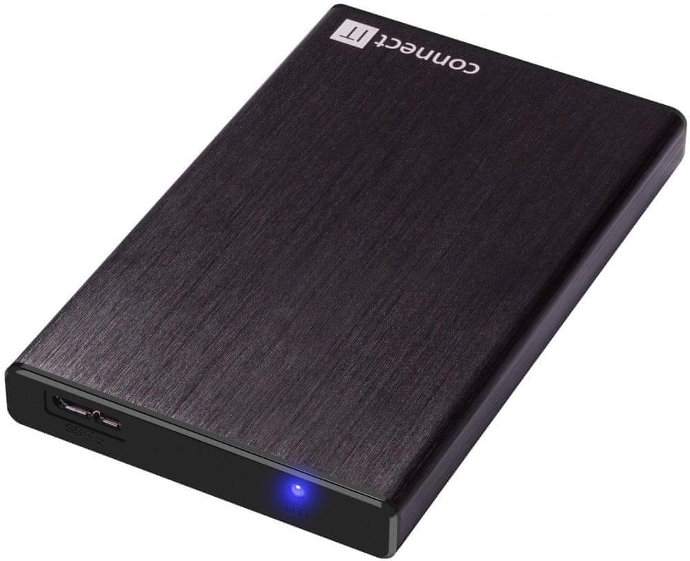 Connect IT externí box LITE, černý (CI-1044)