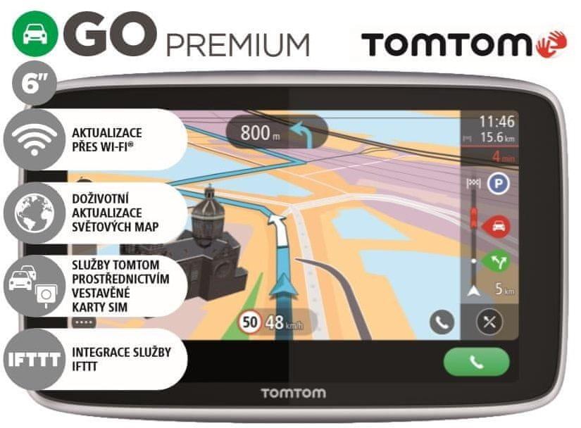 TomTom navigácia