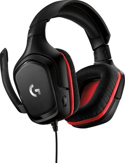Logitech G332, čierna (981-000757)