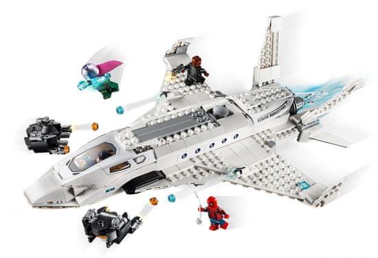 LEGO Super Heroes 76130 Tony Stark Jet iin Drone napad