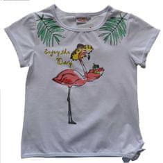Topo dívčí tričko 170 bílá