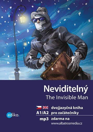 Wells H. G.: Neviditelný / The Invisible Man A1/A2 + mp3 zdarma