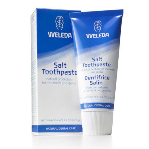 Weleda zobna pasta brez fluorida z morsko soljo, 75ml