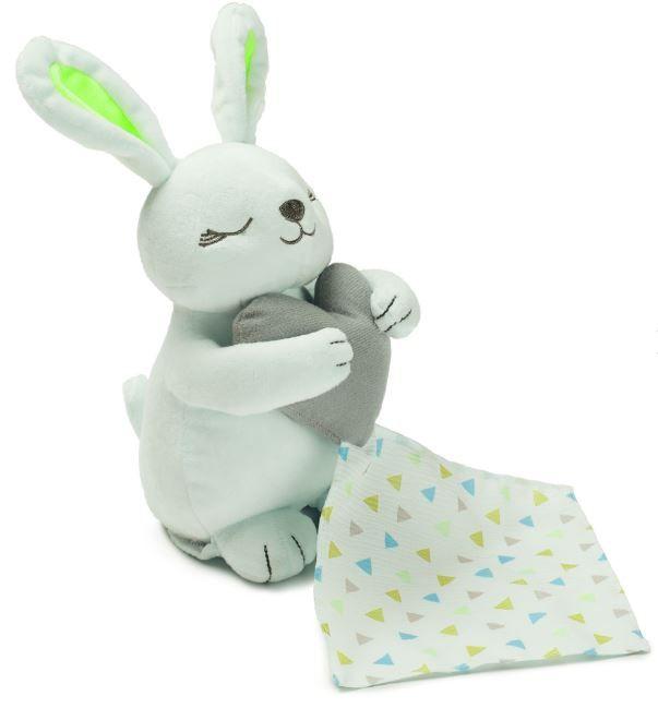 Summer Infant Plyšový usínáček s tlukotem srdce - zajíček