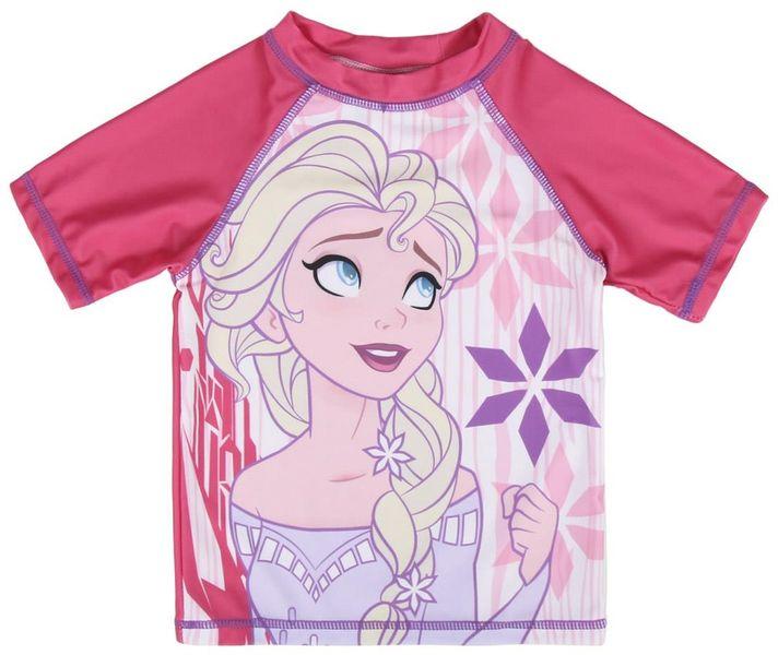 e68e270407ba Disney dívčí plavecké tričko Frozen 104 růžová