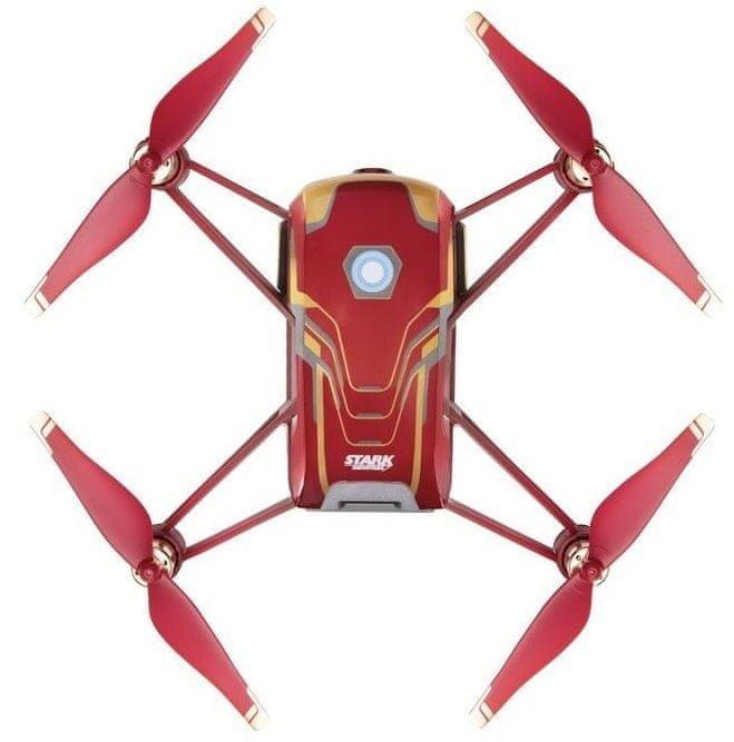 DJI RYZE Tello Iron Man Edition - RC kvadrokoptéra - zánovní
