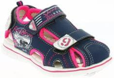 V+J dekliški sandali s formulami, 28, roza/modri