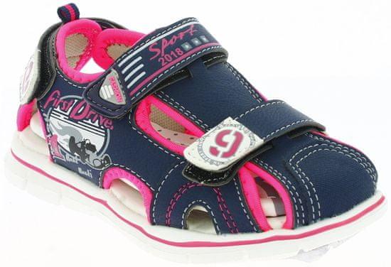 V+J dekliški sandali s formulami