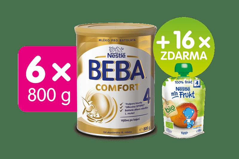 Nestlé 6x BEBA COMFORT 4 - 800g
