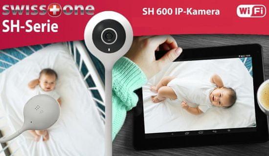 Swisstone SH 600, indoor Smart Wi-Fi IP kamera